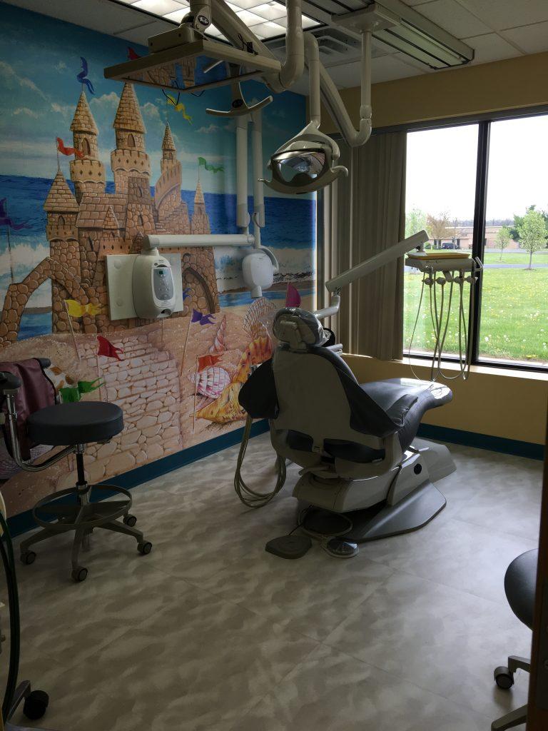 Exam chair - Build Blocks Pediatric Dentistry